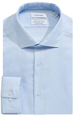 Calvin Klein Slim-Fit Cotton Dress Shirt