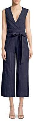 L'Agence Joslyn Linen Striped Jumpsuit