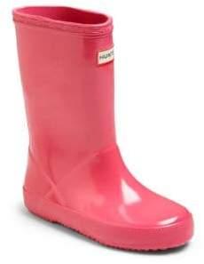 Hunter Infant's, Toddler's& Kid's Gloss Original Rubber Rain Boots