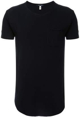 R 13 curved hem T-shirt