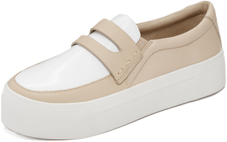 DKNY Bennet Platform Sneakers $175 thestylecure.com