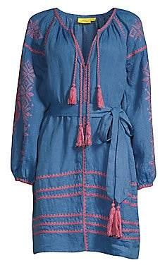 Roller Rabbit Women's Amalia Embroidered Tunic Dress