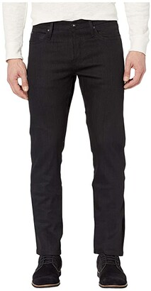 The Unbranded Brand Skinny in 11 oz Solid Black Stretch Selvedge