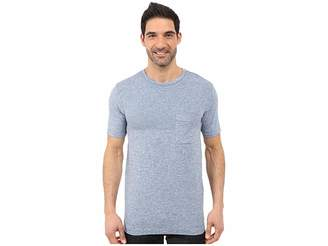 The North Face Short Sleeve Engine Crew (Moonlight Blue Heather