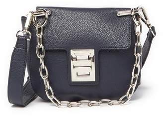Steve Madden Kaia Draped Chain Faux Leather Crossbody Bag