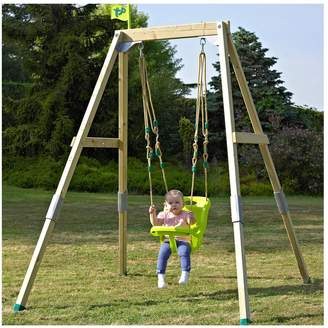 TP Forest Acorn Growable Wooden Swing Set