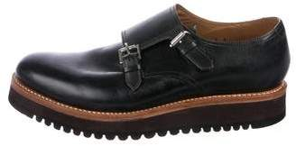Grenson Double Monk Strap Shoes