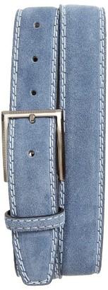 Men's Canali Suede Belt $185 thestylecure.com