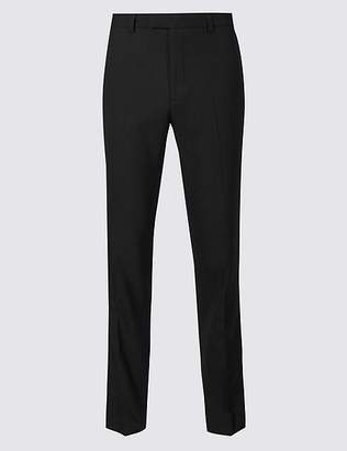 Marks and Spencer Black Tailored Fit Trousers