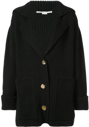 Stella McCartney Ribbed Cardi-Coat