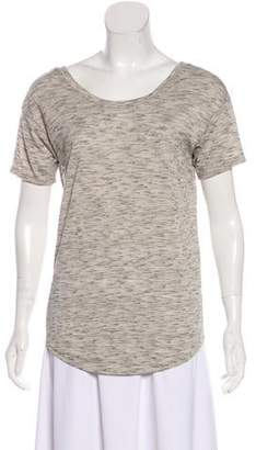 Helmut Lang Short Sleeve Low Back Top