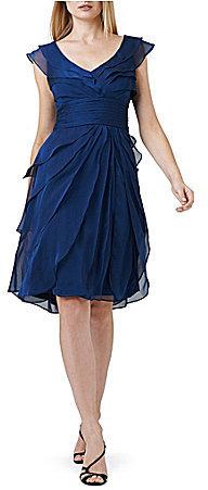 Adrianna PapellAdrianna Papell Plus Chiffon Dress