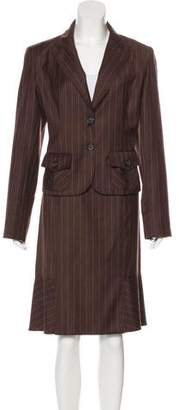 Valentino Wool Skirt Suit w/ Tags