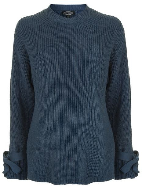 Topshop Topshop Maternity tie sleeve boxy jumper