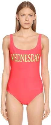 Alberta Ferretti Wednesday Lycra One Piece Swimsuit