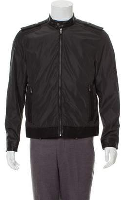 Ungaro Emanuel by Woven Zip-Up Jacket