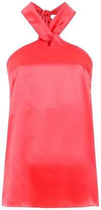 Isolda Jade silk top