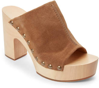 Veronique Branquinho Luggage Studded Platform Mules