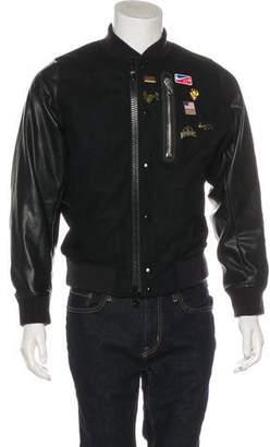 Nike Riccardo Tisci x Lab Wool Embellished Bomber Jacket w/ Tags