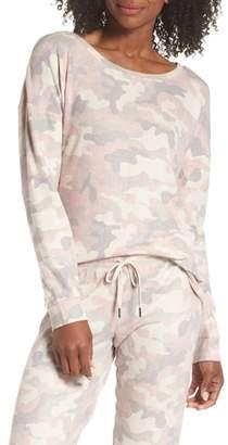 PJ Salvage Camo Pajama Top