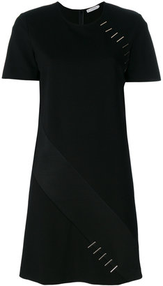 Versace Collection embellished metals T-shirt dress $486.37 thestylecure.com
