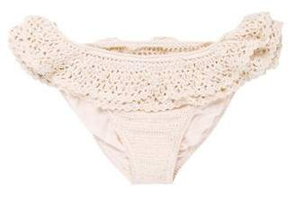Anna Kosturova Crocheted Swimsuit Bottom w/ Tags
