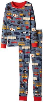 Hatley Rush Hour Long Sleeve Pajama Set Boy's Pajama Sets