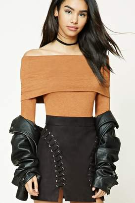 Forever 21 Off-The-Shoulder Top