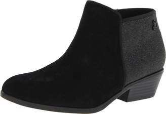 Sam Edelman Kids Girl's Petty Glitt Boot, Black Suede