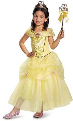 BuySeasons Disney Belle Deluxe Sparkle Toddler Girls Costume