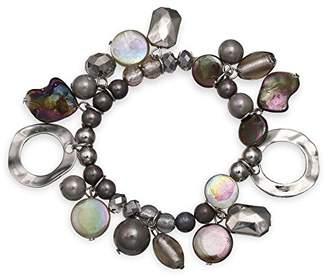 Jules B Grey Stretch Bracelet