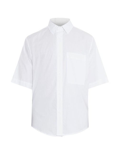 CRAIG GREEN Tied-sides cotton shirt