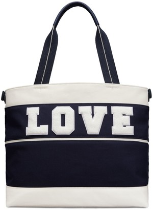 Tory Sport CANVAS LOVE TOTE