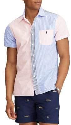 Polo Ralph Lauren Classic-Fit Cotton Fun Button-Down Shirt