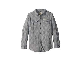 Lucky Brand Kids Long Sleeve Woven Shirt (Big Kids)