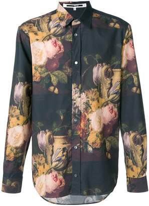McQ Dutch Masters print shirt