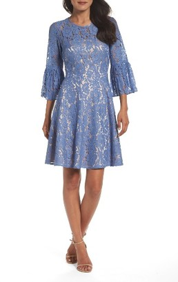 Women's Eliza J Fit & Flare Dress $158 thestylecure.com