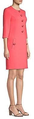 Michael Kors Women's Button-Front Sheath Dress - Size 0