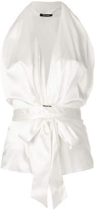 Styland tie waist blouse