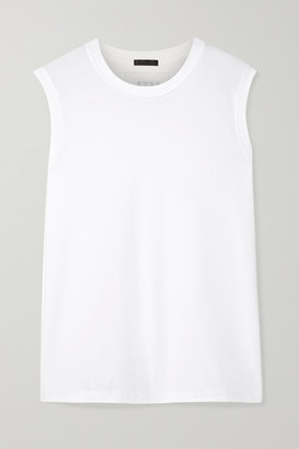 ATM Anthony Thomas Melillo Boy Cotton-jersey Tank - White