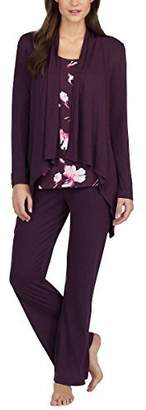Carole Hochman Midnight Ladies' 3-Piece Pajama Set