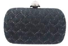 Sondra Roberts Textured Satin Box Bag