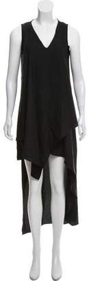 Nicole Miller Asymmetric Sleeveless Dress w/ Tags