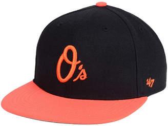 '47 Boys' Baltimore Orioles Basic Snapback Cap