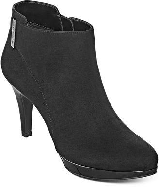 LIZ CLAIBORNE Liz Claiborne Emma Heeled Ankle Booties $49.99 thestylecure.com