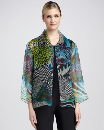 Caroline Rose Patch Easy Jacket