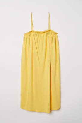 H&M Sleeveless Jersey Dress - Yellow