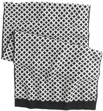 J.Crew Cashmere diamond scarf