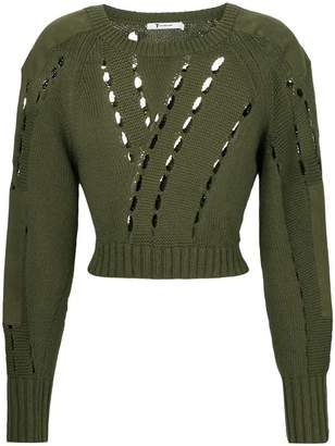 Alexander Wang cut-detail sweater