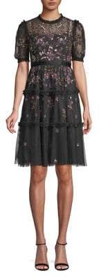 Needle & Thread Carnation Sequin Dress